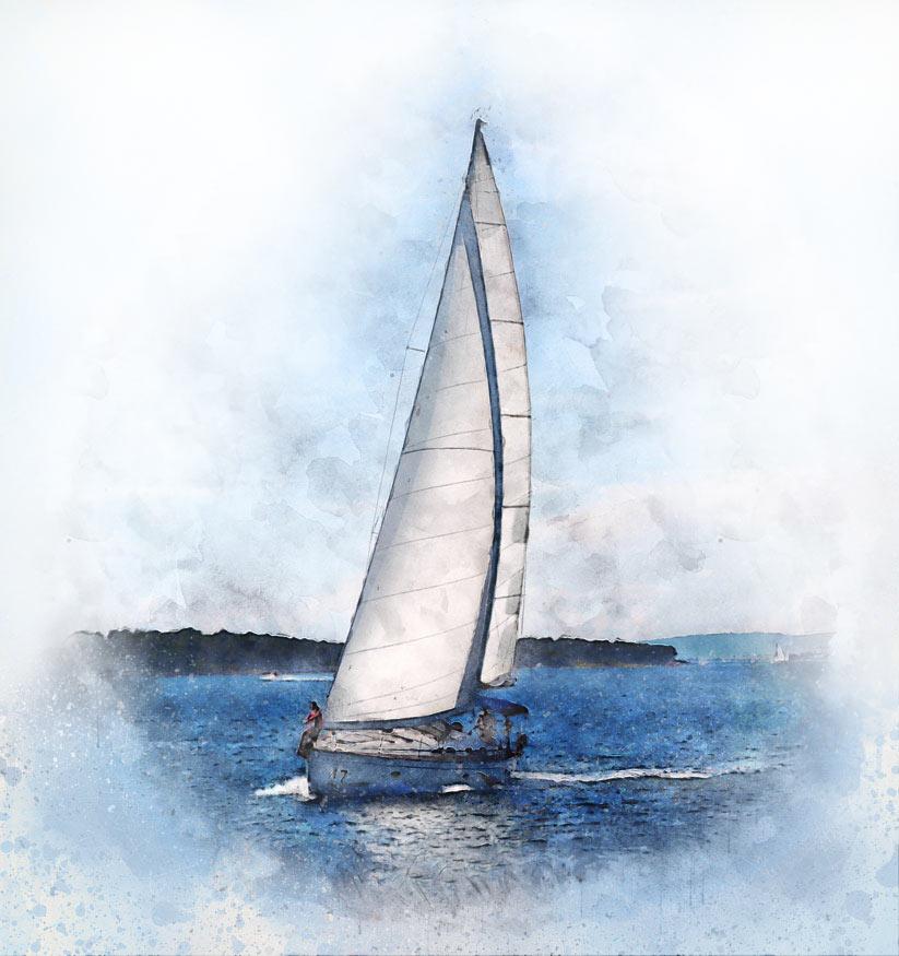 Segelschiff bleistiftzeichnung  Deine digitale Portraitzeichnung |